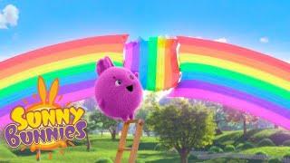 SUNNY BUNNIES | Arc en ciel cassé | Dessins drôles pour les enfants | WildBrain