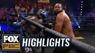 Michael Coffie, former Marine, knocks out Darmani Rock to improve to 12-0 | HIGHLIGHTS | PBC ON FOX