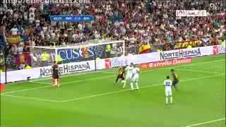 صاروخ ميسي ضد ريال مدريد