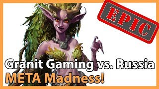 ► Heroes of the Storm: Granit Gaming vs. Team Russia - META Madness