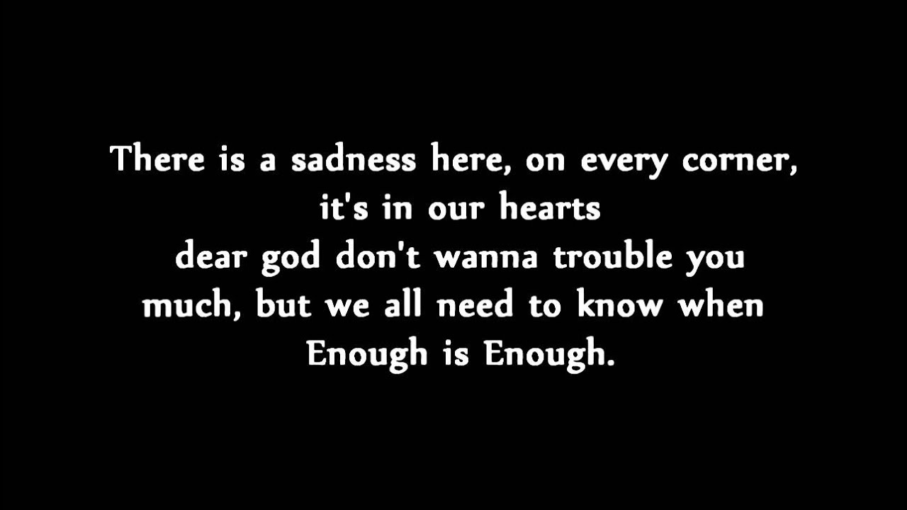 A Day to Remember - Violence [Enough is Enough] (Lyrics ... A Day To Remember Violence Lyrics