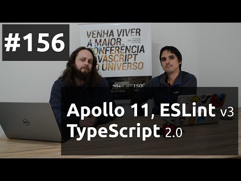 Weekly #156 - Apollo 11, ESLint v3 e TypeScript 2.0