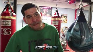 """ANGEL GARCIA WANTS TO SEE SPENCE VS CRAWFORD """"THAT FIGHT CAN BE EITHER OR!"""""""