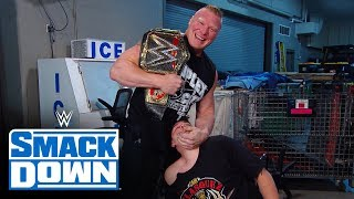 Brock Lesnar delivers a surprise to Cain Velasquez and Rey Mysterio: SmackDown, Oct. 25, 2019