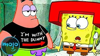Top 10 Reasons SpongeBob Should End His Friendship With Patrick