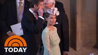 Pippa Middleton Arrives At Windsor Castle For Royal Wedding | TODAY