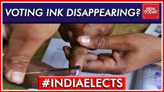 Karnataka Voters Complain Of Ink Disappearing 1 Hour After Voting  | Lok Sabha Elections 2019