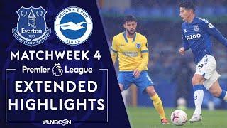 Everton v. Brighton   PREMIER LEAGUE HIGHLIGHTS   10/3/2020   NBC Sports