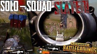 PUBG Mobile - Solo In Squad DOMINATION! 11 Kill SLAUGHTER! Lightspeed + Quantum