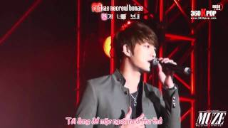 [Vietsub] [Fancam] Kim JaeJoong - For you it's separation, to me it's waiting {DBSK Team} [360Kpop]