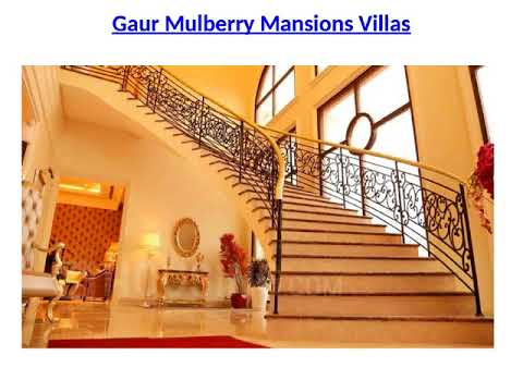 Gaur Mulberry Mansions Ultra modern flats