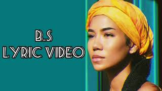 JHENÉ AIKO FT H.E.R. - BS LYRIC VIDEO ( OFFICIAL VIDEO)