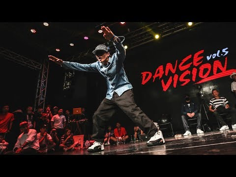 Viho, Poppin Hyun Joon, Yuki, Mr. Wiggles & MC Luffy - Dance Vision vol.5 Showcase