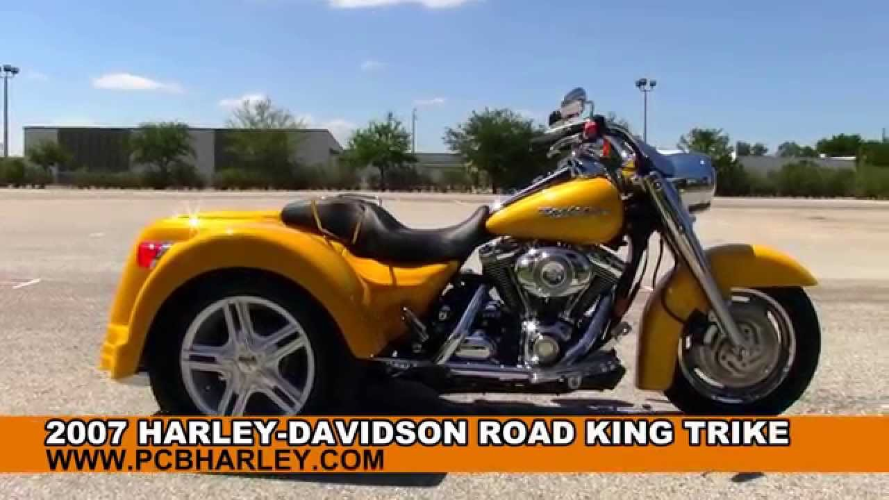 used harley davidson trike 3 wheelers motorcycles for sale youtube. Black Bedroom Furniture Sets. Home Design Ideas