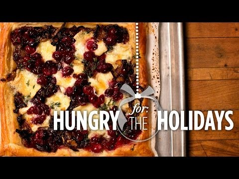Cranberry, Brie & Onion Tart   Hungry For The Holidays - Smashpipe Style