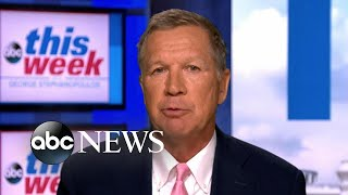 'Chaos' around Trump 'has unnerved a lot of people': GOP Gov. Kasich