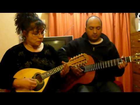 Levanto mis manos y Cuan Bello es El Señor 1ra voz mandolina