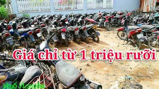 Bãi xe xe cũ Trường Thọ giá từ một triệu rưỡi |Ngố Nguyễn