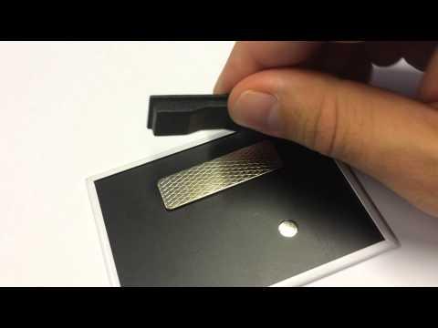 Navneskilt med magnet 64x89mm