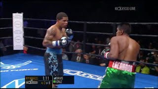 "Gervonta ""Tank"" Davis Vs Cristobal Cruz Fight Highlights 10.30.15"