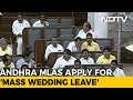 100 AP MLAs granted Mass Leave, to attend Weddings