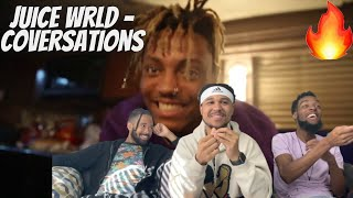 HEAT!!! Juice WRLD- Conversations (Official Music Video) | Reaction!!!