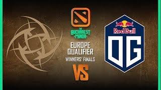 NiP vs OG Game 1 - Bucharest Minor EU Qualifier: Winners' Finals w/ KillerPigeon, Nahaz