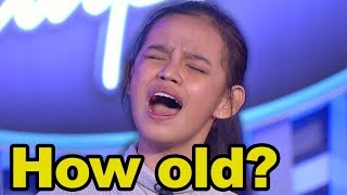 16-year-old Zephanie Dimaranan Astonishes Judges With Mature Voice