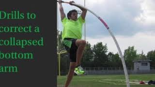 How to correct a flat take off in the pole vault