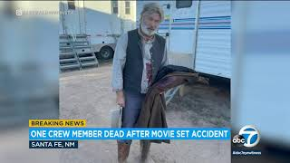 Alec Baldwin fired prop gun that killed photography chief, injured director on film set   ABC7