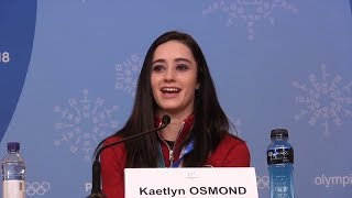 Kaetlyn Osmond Post-Olympic Interview | LIVE 2-23-18