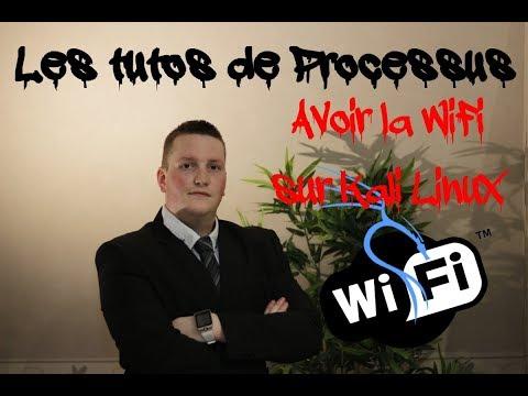 Avoir la wifi sur Kali en machine virtuelle