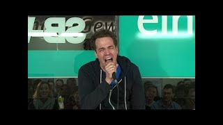 Lachtyp Jan van Weyde bei NightWash live