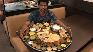 Biggest Thali of South India   Ponnuswamy Hotel   Nungambakkam