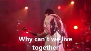 STEVE WINWOOD & CARLOS SANTANA  Why can't we live together