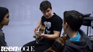 Shawn Mendes Surprises Two Fans and Performs for Them   Teen Vogue