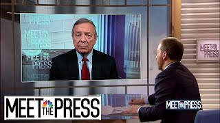 Full Durbin: 'History Will Find You' If Senators Don't Hold 'Fair' Trial | Meet The Press | NBC News
