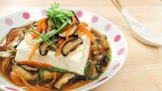 "Steamed Tofu ""Deluxe"" Recipe เต้าหู้นึ่งทรงเครื่อง - Hot Thai Kitchen!"