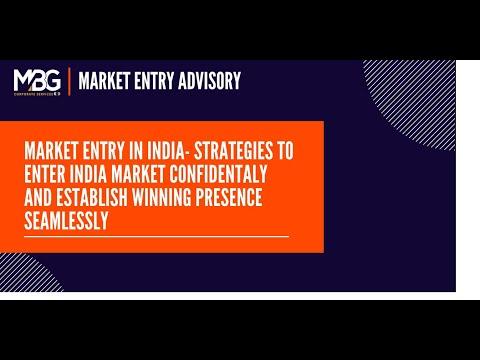 India Market Entry Strategy