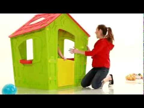 Видео: Игровой домик Keter Magic Playhouse