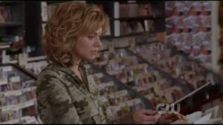 one tree hill - peyton and max at the record store