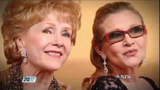 Debbie Reynolds and Carrie Fisher Heartbreak in Hollywood