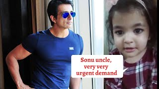 Sonu Sood gets cutest request from little girl, his reply ..