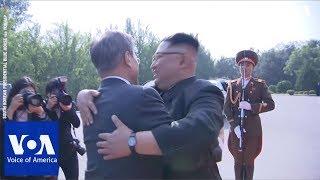 South Korea's President Moon Jae-in Meets with North Korea's Leader Kim Jong Un Again