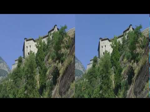 the Fortress of Bard - Valle d'Aosta in 3D