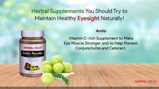 Eye Health: It's Not as Difficult as You Think to Maintain with Authentic Herbs!