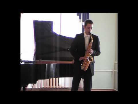 Zimin Nikita - Glazunov-Lauba, Concerto for Alto Saxophone.