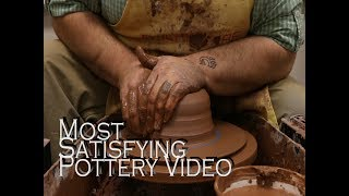 Most Satisfying Video - Ceramics on the Wheel