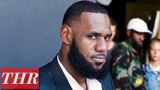 LeBron James on Giving Back to The Community, Behind The Scenes THR Cover Shoot