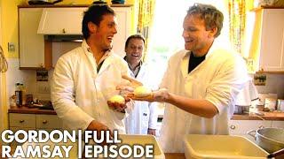 Gordon Ramsay Makes Buffalo Mozzarella In Scotland | The F Word FULL EPISODE
